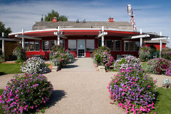 Saskatoon Berry Barn. The Berry Barn, begun in the early 1990's as a Saskatoon Berry orchard, has since grown into a full-fledged restaurant, gift shop, and stock photo