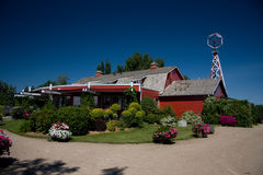 Saskatoon Berry Barn Stock Photography
