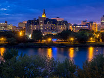 Saskatoon skyline Stock Photography