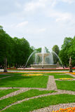 Saski公园,华沙 免版税库存图片