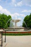 Saski park, Warsaw Stock Photo
