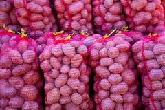 Sasks de las patatas Imagenes de archivo