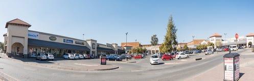 Sasolburg-Mall, in Sasolburg in der Freistaat-Provinz stockbilder