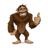 sasquatch Illustration Stock