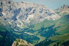 Sass Pordoi, Dolomiet, Italië Stock Foto