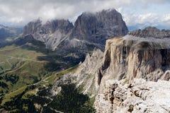 Sass Pordoi - Dolomites Royalty Free Stock Image