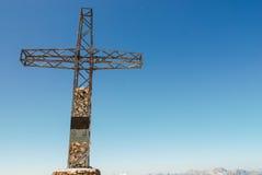 Sass Pordoi, dolomity, Włochy Zdjęcie Stock