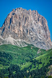 Sass Pordoi south face (2952 m) in Gruppo del Sella, Dolomites m Stock Images