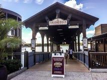 Sassagoula Steamboat Company, Disney Springs, Orlando, FL. Stock Photos