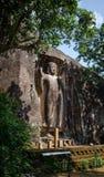 The Sasseruwa Buddha, Sri Lanka. The Sasseruwa Buddha, or Ras Veheranear, Near Avukana, Sri Lanka Stock Photography