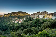 Sassetta, Castagneto Carducci, Leghorn, Italy. Sassetta is a small hamlet in the municipality of Castagneto Carducci, famous for chestnuts and wild boars Royalty Free Stock Images