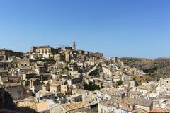 Sassi二马泰拉-意大利 免版税库存图片