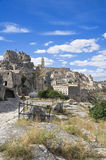 Sassi de Matera. Basilicata. Foto de archivo libre de regalías