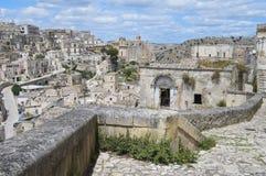 Sassi de Matera. Basilicata. Fotos de archivo