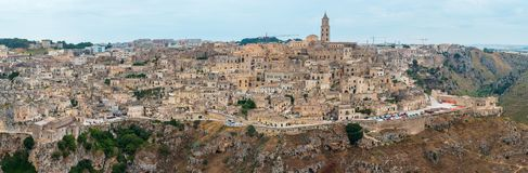 Sassi di Matera, Basilicata, Italy royalty free stock photos