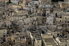 Sassi di Matera royalty free stock images