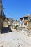 Sassi di Matera - Itália Fotografia de Stock