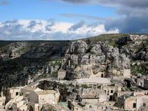 Sassi di Matera, Italien Süd Lizenzfreie Stockfotografie