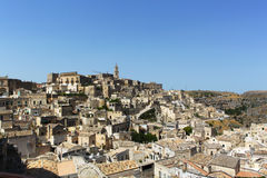 Sassi di Matera - Italy. The Sassi di Matera are ancient cave dwellings in the Italian city of Matera, Basilicata. Situated in the old town, they are composed of Royalty Free Stock Image