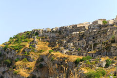 Sassi di Matera - Italy Royalty Free Stock Photography