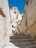 Sassi di Matera. La Basilicata. Fotografia Stock Libera da Diritti
