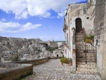 Sassi di Matera. La Basilicata. Fotografia Stock