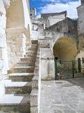 Sassi di Matera. La Basilicata. Fotografie Stock Libere da Diritti