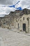 Sassi di Matera. La Basilicata. Fotografie Stock