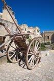 Sassi di Matera. La Basilicata. L'Italia. Immagine Stock Libera da Diritti