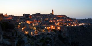 Sassi di Matera Royalty Free Stock Photo