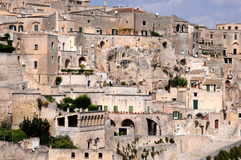 Sassi di Matera Royalty Free Stock Photos