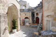 Sassi di Matera Royalty Free Stock Photography
