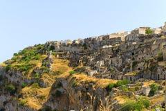 Sassi di Matera, Włochy - Fotografia Royalty Free