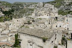 Sassi, Italy Royalty Free Stock Images