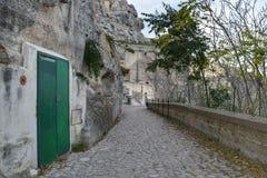 Sassi Matera, Италии Стоковая Фотография RF