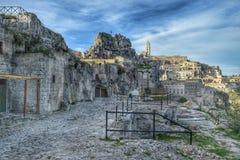Sassi Matera, Италии Стоковые Фотографии RF