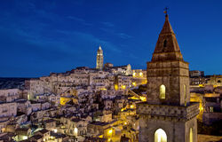 Sassi of Matera-1 Stock Image