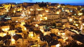 The Sassi of Matera royalty free stock image