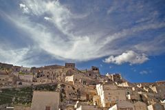Sassi of Matera Royalty Free Stock Photo