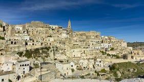 Sassi of Matera-4. Sassi houses of Matera  Basilicata, Italy Royalty Free Stock Images