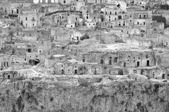 Sassi of Matera. Royalty Free Stock Images