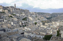 Sassi of Matera. Royalty Free Stock Photography