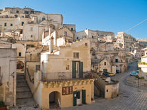 The Sassi of Matera. Basilicata. Royalty Free Stock Photography