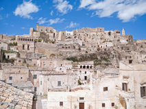 Sassi of Matera. Basilicata. Royalty Free Stock Image