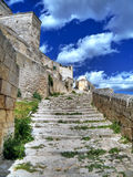 Sassi of Matera. Basilicata. Stock Photo