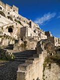Sassi of Matera. Basilicata. Stock Images