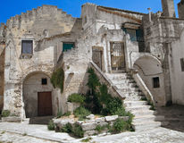 Sassi of Matera. Basilicata. Royalty Free Stock Photo