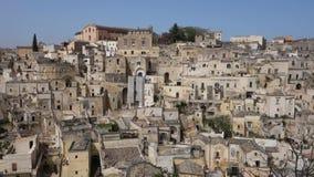 Sassi von Matera Basilikata Italien stock footage