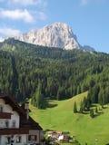 Sasslong mountain in Val Gardena, Italy Stock Photography