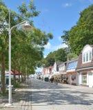 Sassnitz, île de Ruegen, mer baltique, Allemagne Photos libres de droits